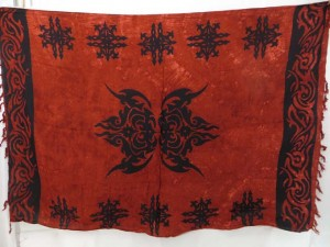 dark earth tone tattoo sarong