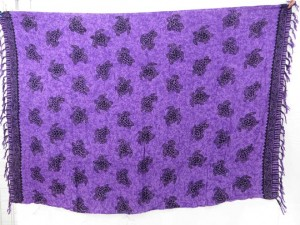 purple turtle sarong