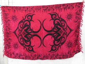 wraparound skirt cover up wraps fuchsia large tattoo