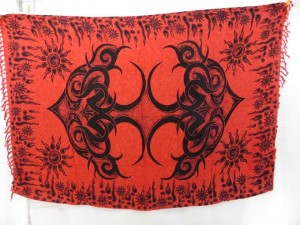 red sarong beach wraps large tattoo designs