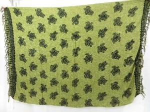 green turtle sarong
