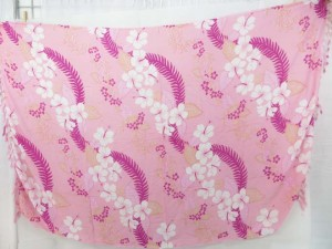 light pink flower sarong