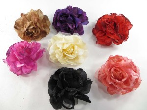 Glitter-rose-corsage-brooch-pin-ponytail-holder-mix-a