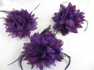 feather-glitter-flower-corsage-brooch-pin-ponytail-holder-12a