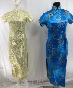 Chinese dresses silk brocade qipao cheongsam