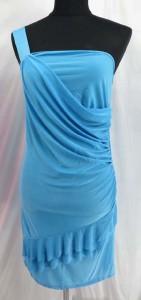 solid color short dress