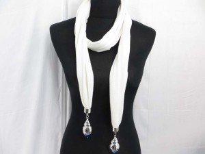 seashell pendant charm jewelry scarf necklace