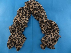animal skin neck warmer neck scarf