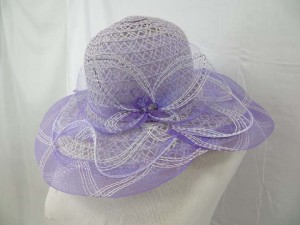 summer hats with butterfly design