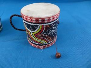 Balinese handheld drum
