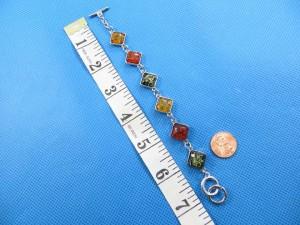 imitation amber bracelet