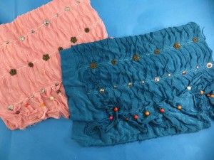 scarves shawls with beads and jewelry