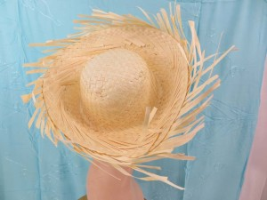 party fun straw hats`