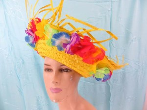 mexican-sombrero-hats-10-party-cap-aloha-hawaiian-flower-lei-d