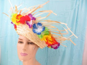 mexican-sombrero-hats-10-party-cap-aloha-hawaiian-flower-lei-e