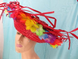 mexican-sombrero-hats-10-party-cap-aloha-hawaiian-flower-lei-g
