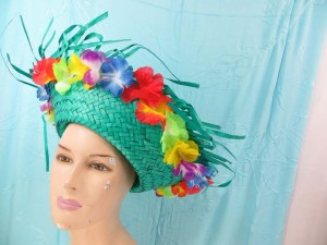 mexican-sombrero-hats-10-party-cap-aloha-hawaiian-flower-lei-i