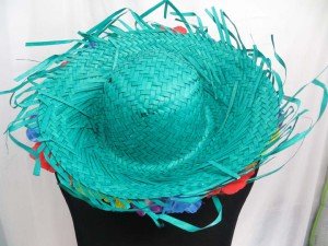 mexican-sombrero-hats-10-party-cap-aloha-hawaiian-flower-lei-k
