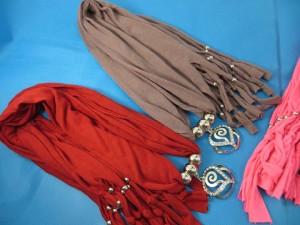 Swirl sz pendant necklace scarves`