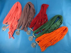 Jewelry necklace pendant scarf