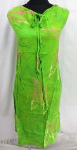 Bali rayon beach dresses in tropical designs