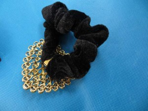 rhinestone-hair-tie-ponytail-holder-scrunchie-40g
