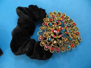 rhinestone-hair-tie-ponytail-holder-scrunchie-40h