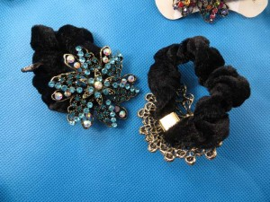 rhinestone-hair-tie-ponytail-holder-scrunchie-40u