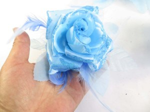 rose-feather-glitter-corsage-brooch-pin-ponytail-holder-10c