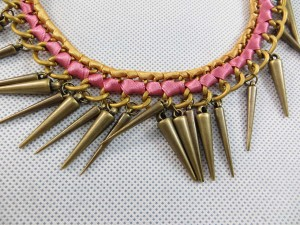 spike punk jewelry bracelet