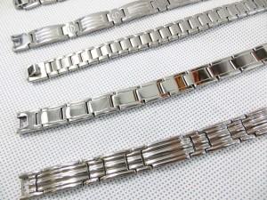 Men's jewelry stainless steel bracelets in silver tone