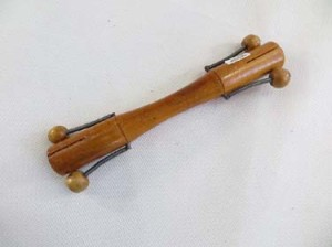 double sided etek etek Bali handheld musical instrument