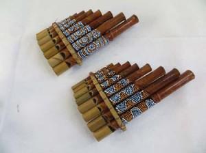 bamboo panpipe pan flute