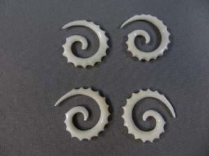 Bone spiral taper