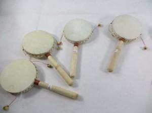 castania den den daiko tibetan twist drum handmade in Bali