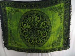 celtic sarong wraps wiccan tapestries pagan wall hangings celtic wall art mixed designs randomly picked by our warehouse staffs