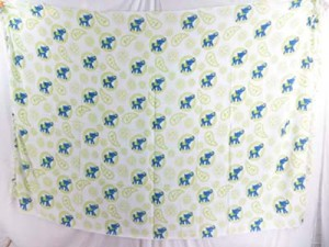 resort wear dresses blue green elephant on white background