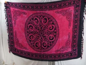 celtic knot designs wholesale clothing sarong wraps wiccan tapestries pagan wall hangings celtic wall art  mixed designs randomly picked by our warehouse staffs