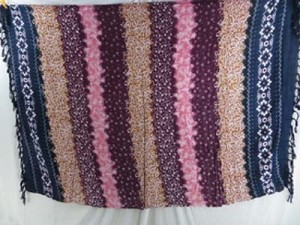 bohemian hippie clothing shawls dresses pink plum light brown stripes
