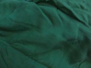 solid green sarong