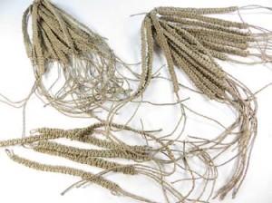 natural hemp macrame bracelet, handmade in Bali Indonesia