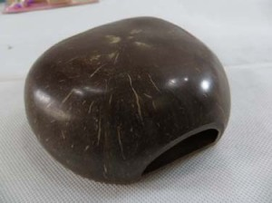 muscial instrument made of coconut shell