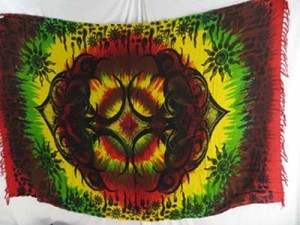 tattoo tie dye hippie rasta clothing sarong shawls wiccan tapestries