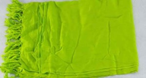 soild lime green sarong
