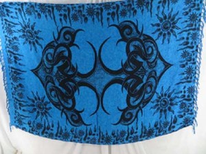 blue giant tattoo design sarong