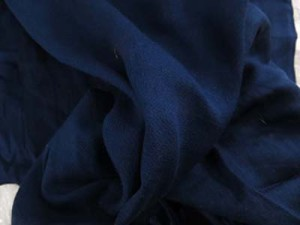 solid dark blue sarong