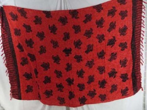 red turtle sarong