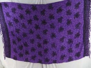 purple turtle sarong