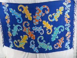 colorfuly gecko lizards blue mundu pareau