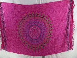 fuchsia mandal sarong